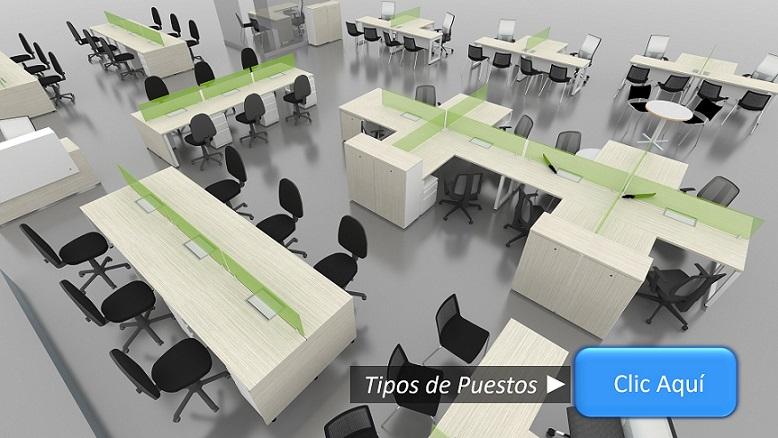 Mobiliario para Oficinas Bogotá