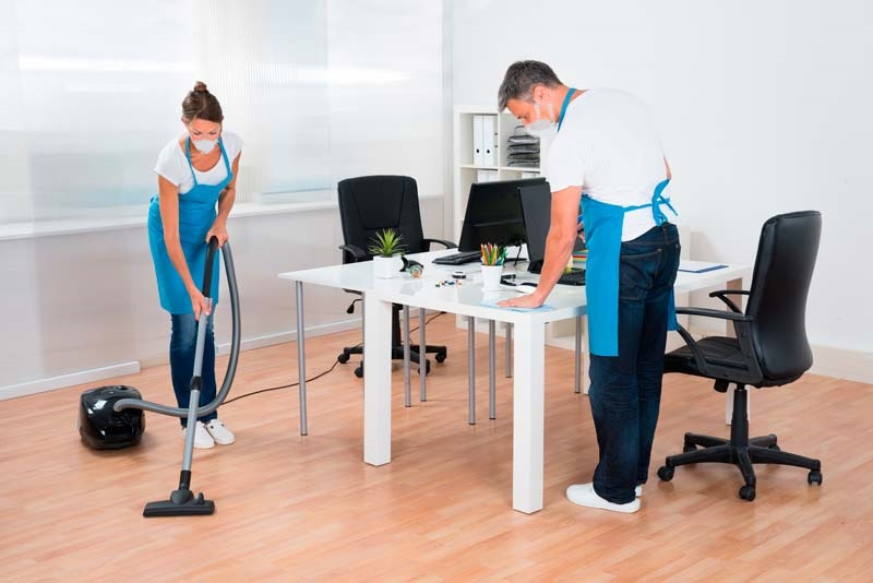 como limpiar una oficina correctamente aseo evitar covid-19